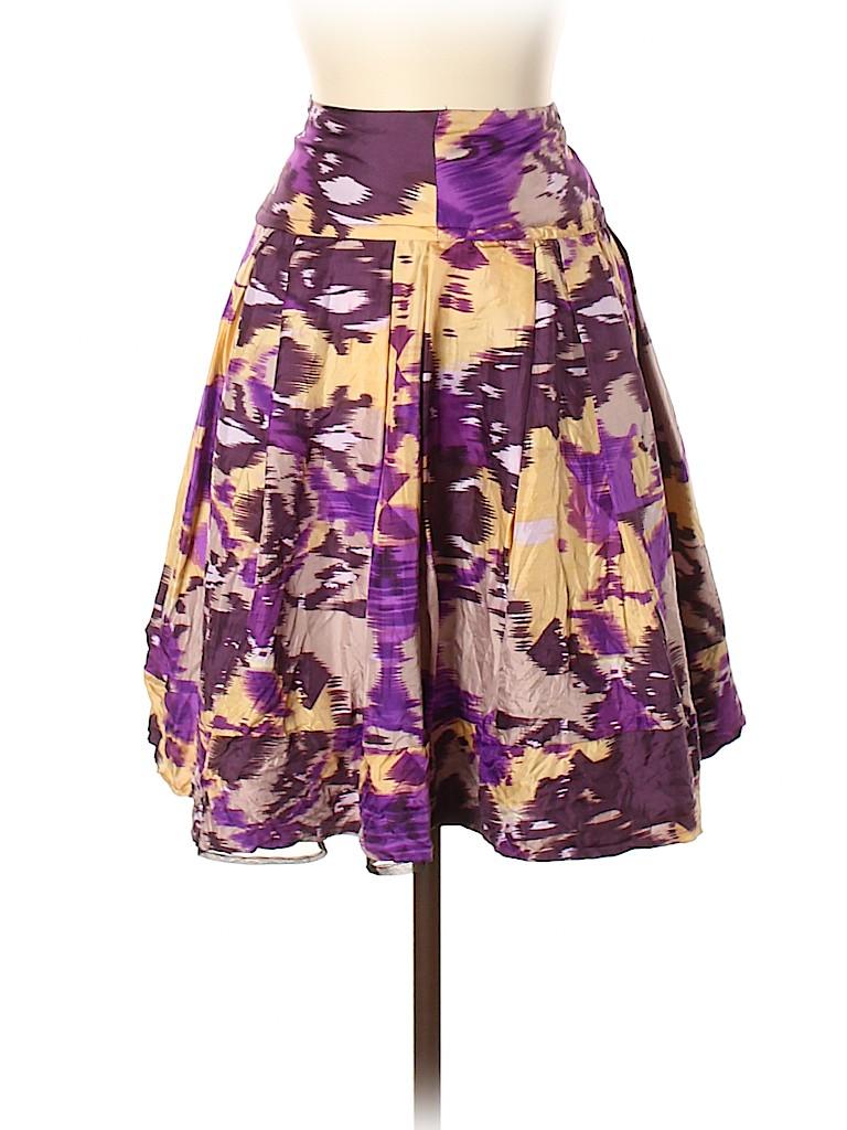 Unbranded Women Silk Skirt Size S