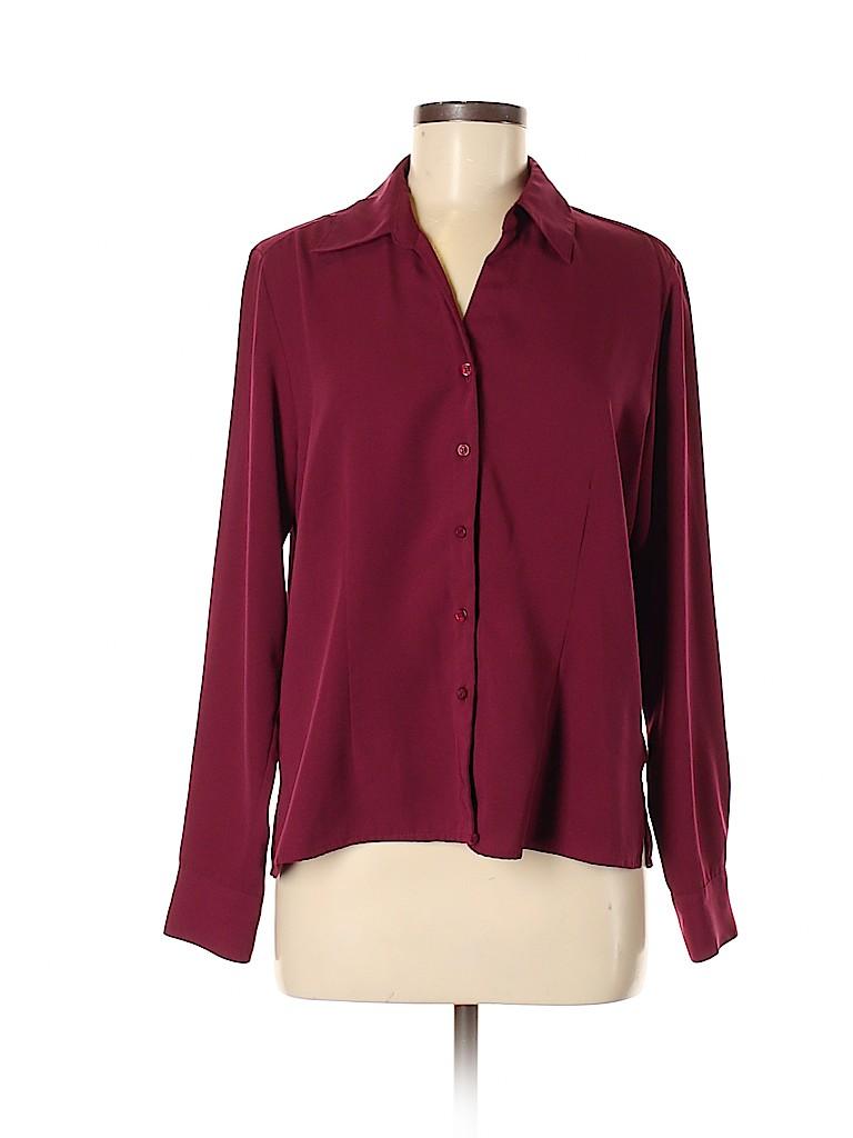 Apparenza Women Long Sleeve Blouse Size M
