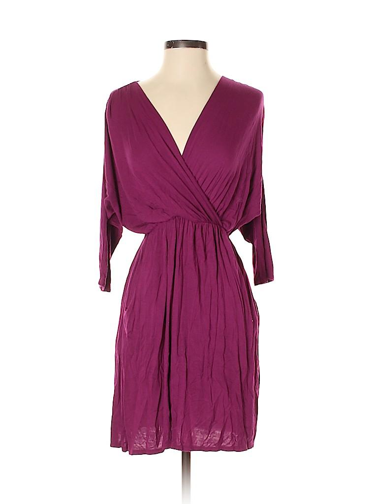 Pink Owl Women Casual Dress Size S