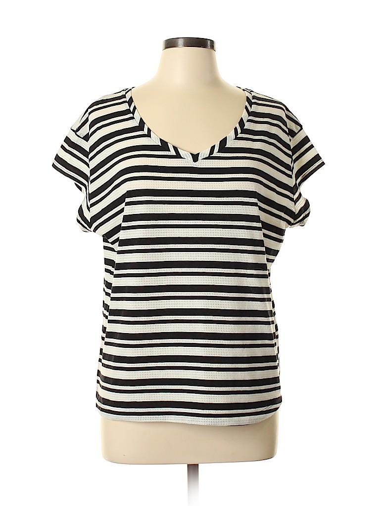 Falls Creek Women Short Sleeve T-Shirt Size XL