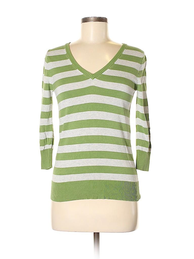 Grace Elements Women Silk Pullover Sweater Size S