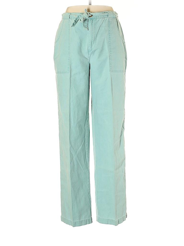 Orvis Women Linen Pants Size 10