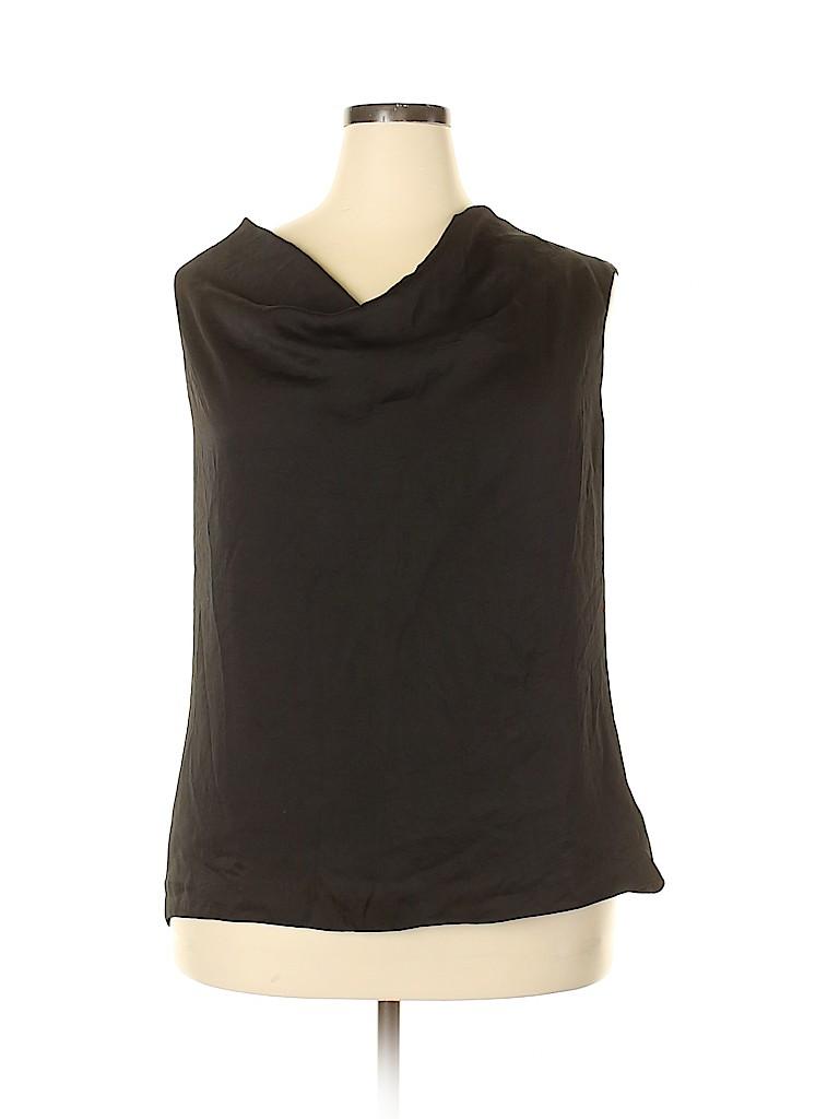 MICHAEL Michael Kors Women Sleeveless Blouse Size 24 (Plus)