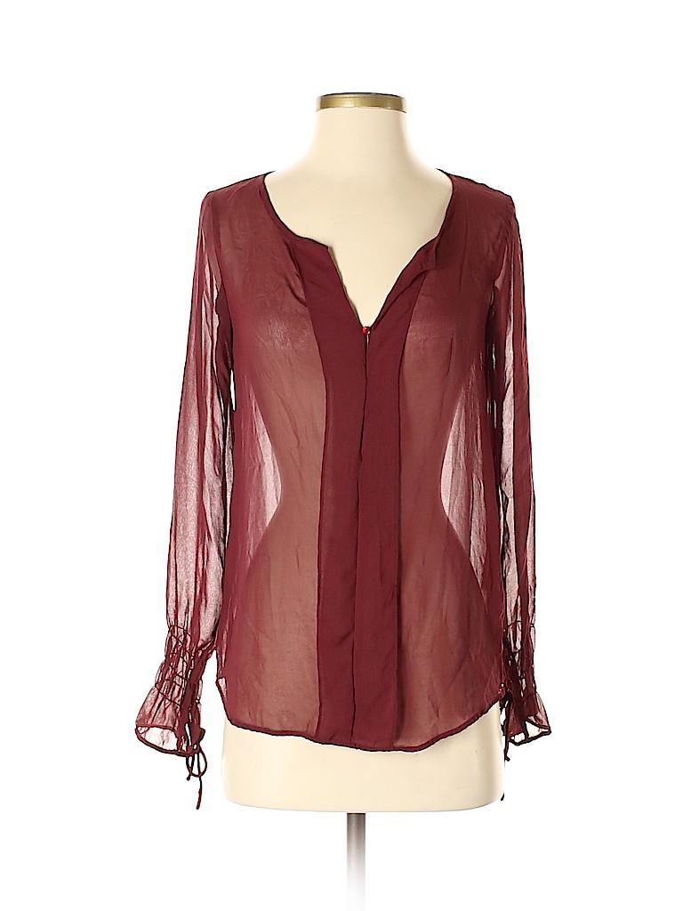 Zara TRF Women Long Sleeve Blouse Size S