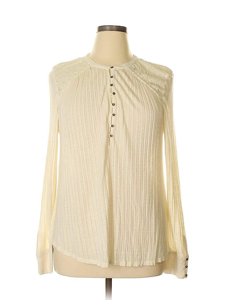 Lucky Brand Women Long Sleeve Blouse Size XL