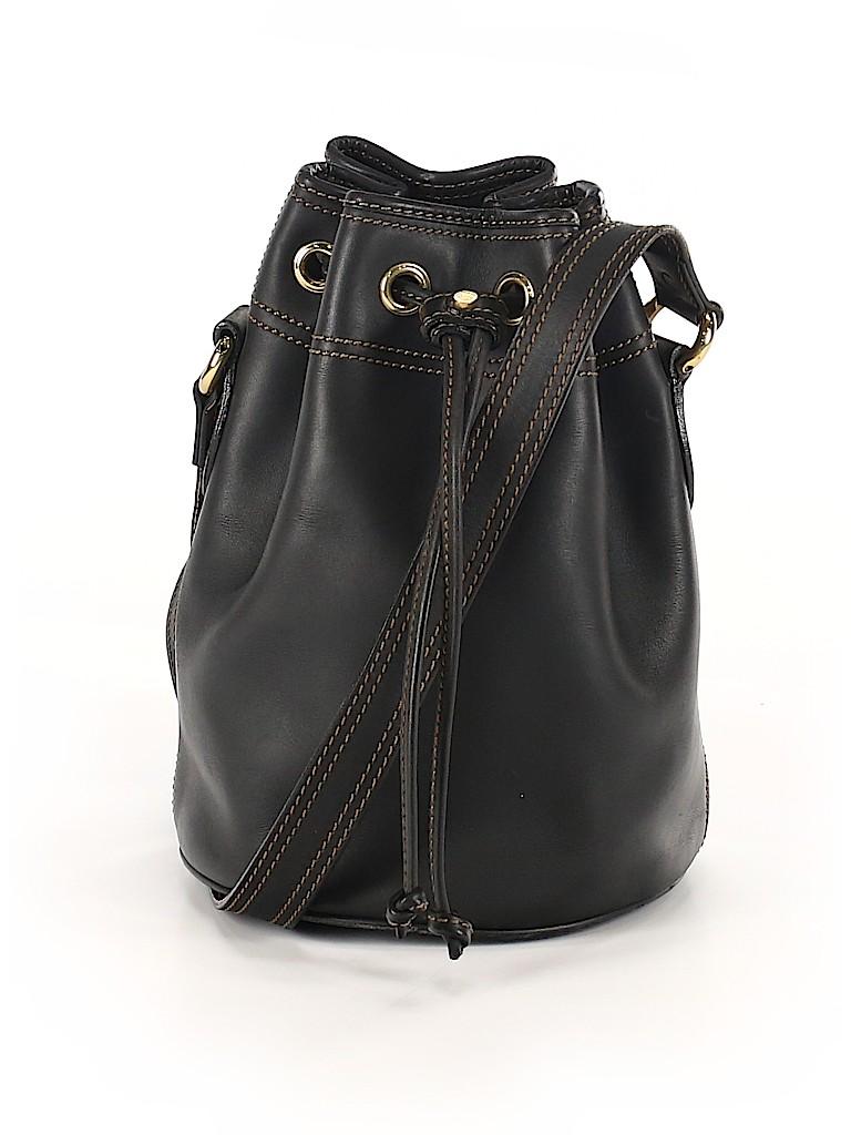 Mark Cross Women Leather Bucket Bag One Size