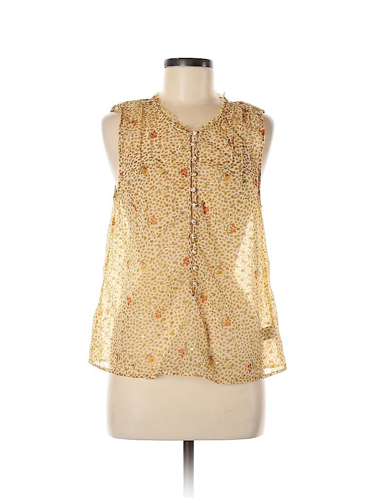 Patterson J. Kincaid Women Sleeveless Blouse Size M