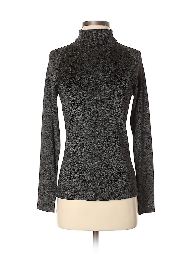 Linda Allard Ellen Tracy Women Turtleneck Sweater Size M