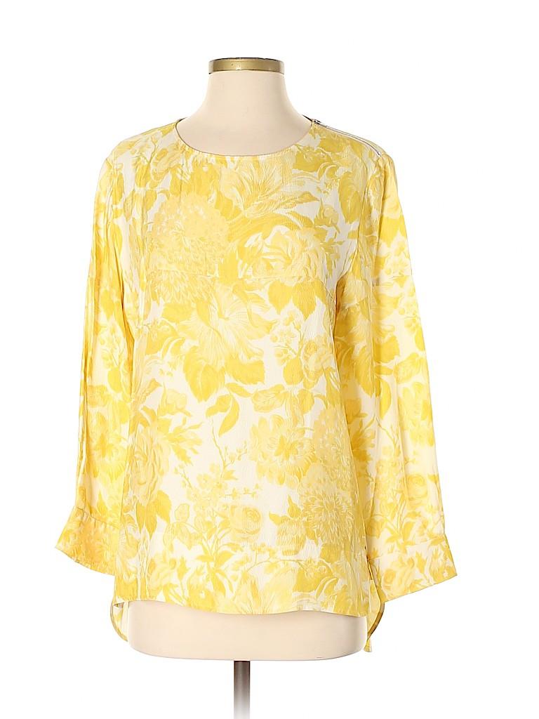 Stella McCartney Women 3/4 Sleeve Silk Top Size 40 (IT)