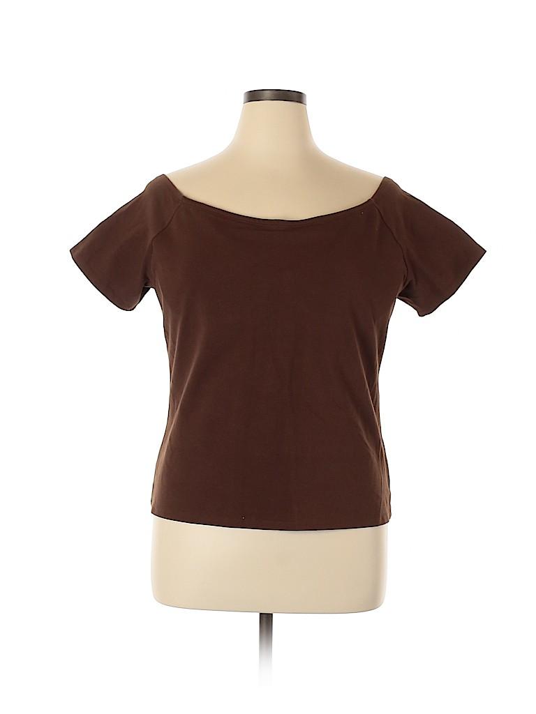 Soft Surroundings Women Short Sleeve T-Shirt Size 42D
