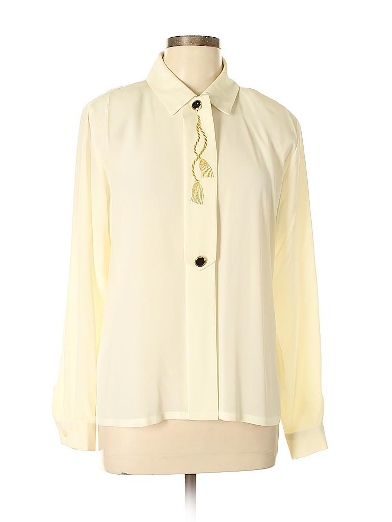 Susan Bristol Women Long Sleeve Blouse Size 8