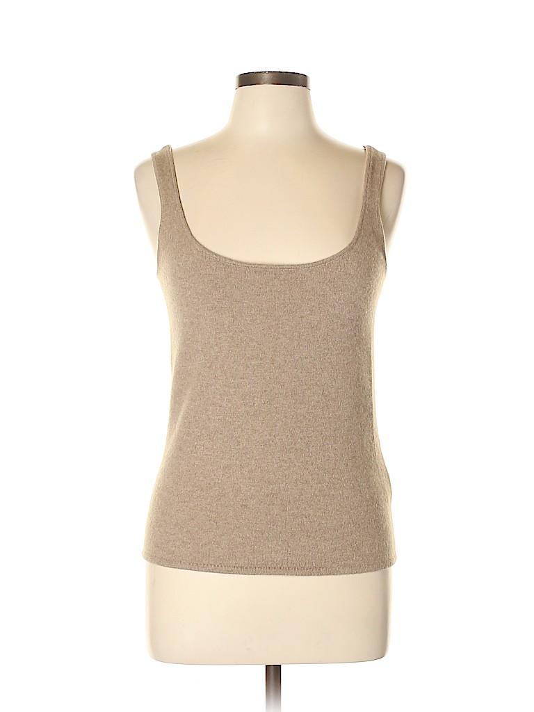 Ralph Lauren Black Label Women Cashmere Pullover Sweater Size L