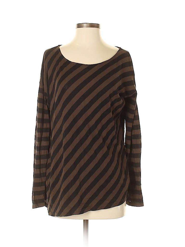 NM Luxury Essentials Women Long Sleeve T-Shirt Size 3