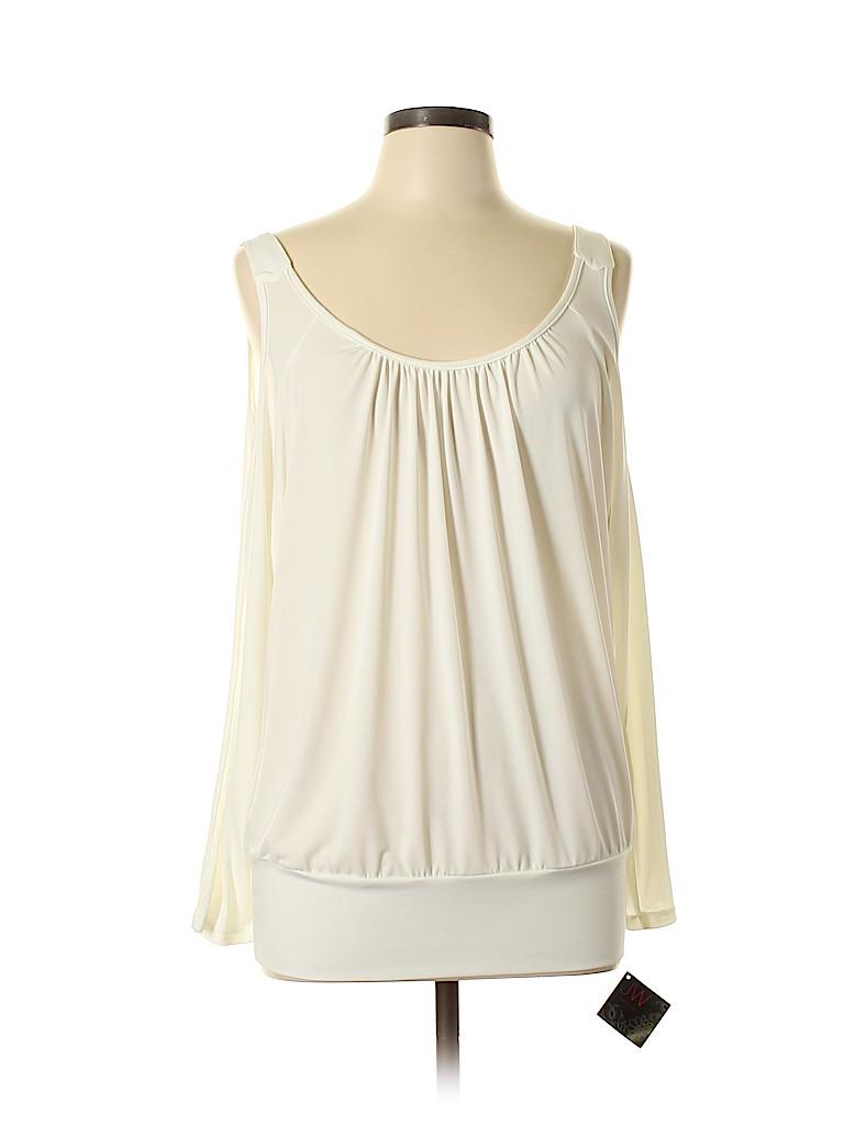 JW (JW Style) Women Long Sleeve Top Size L