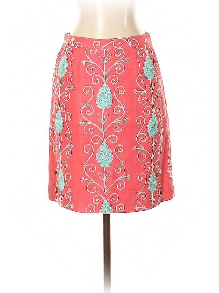 Milly Women Silk Skirt Size 2