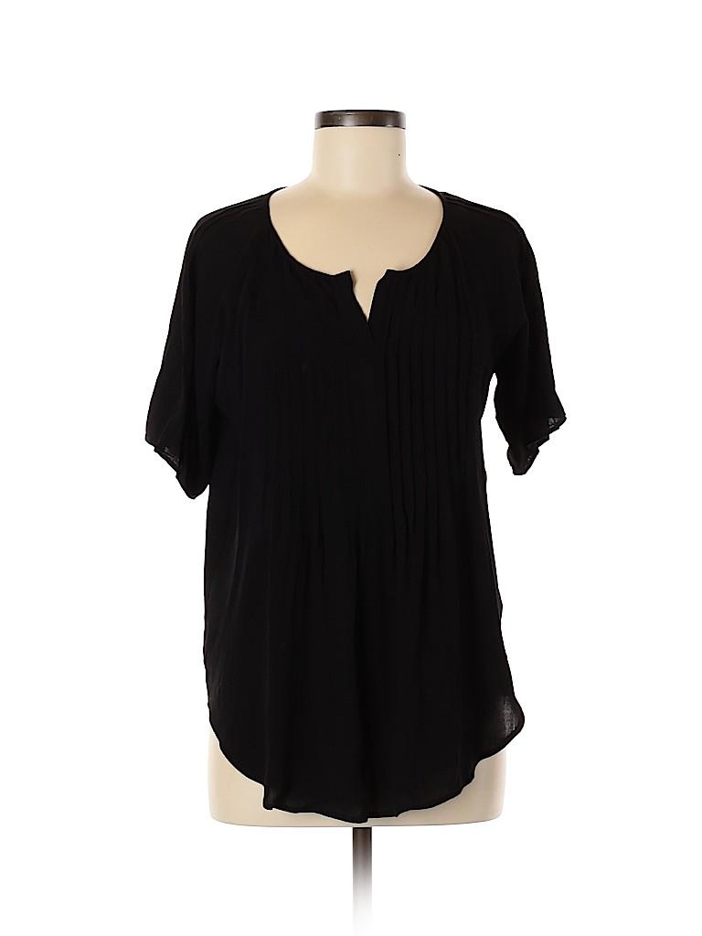 Vince Camuto Women Short Sleeve Blouse Size S
