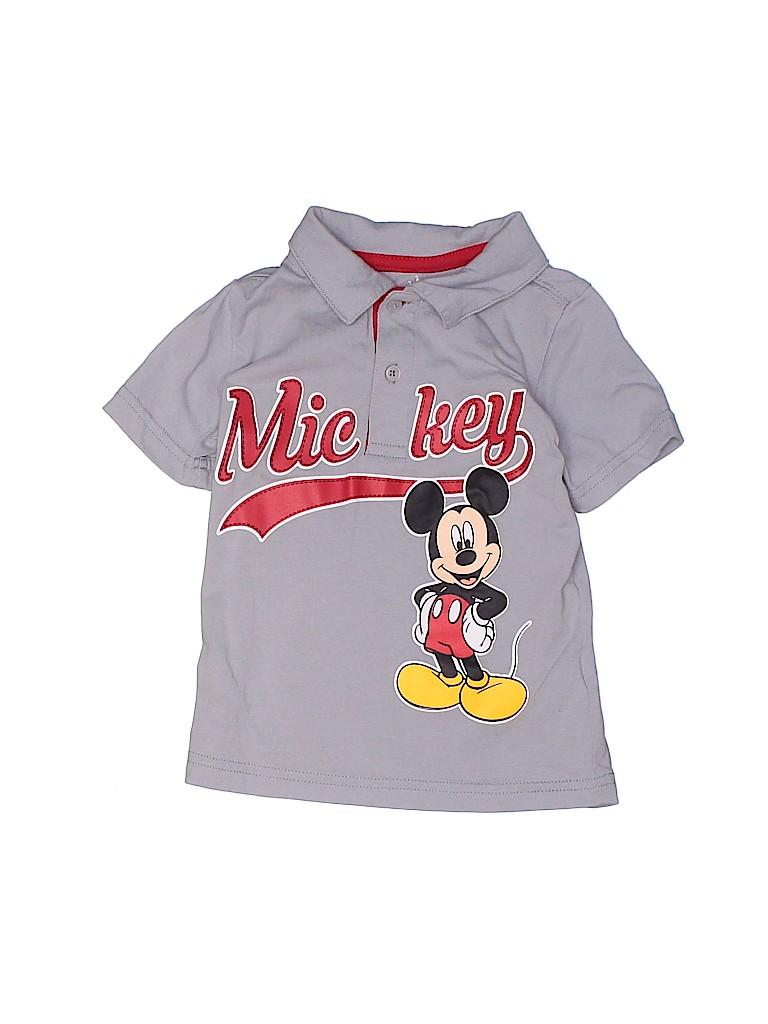 Disney Boys Short Sleeve Polo Size 24 mo