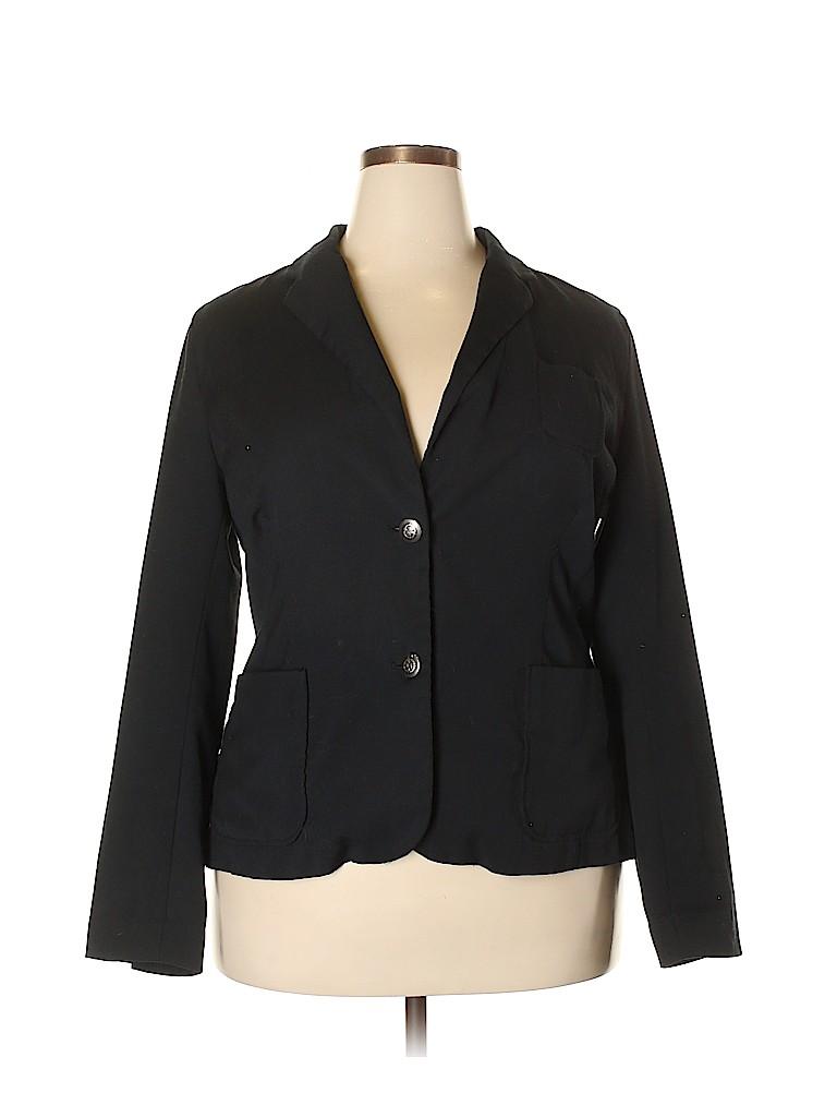 Gap Outlet Women Blazer Size 20 (Plus)