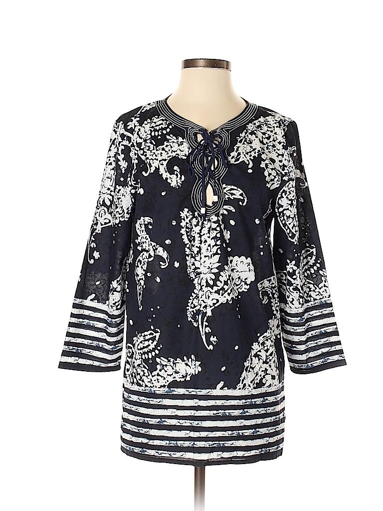 MICHAEL Michael Kors Women 3/4 Sleeve Blouse Size M