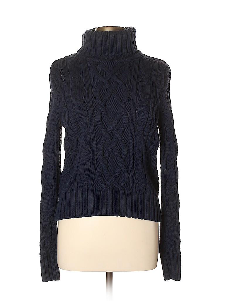 Lands' End Women Turtleneck Sweater Size 10 - 12