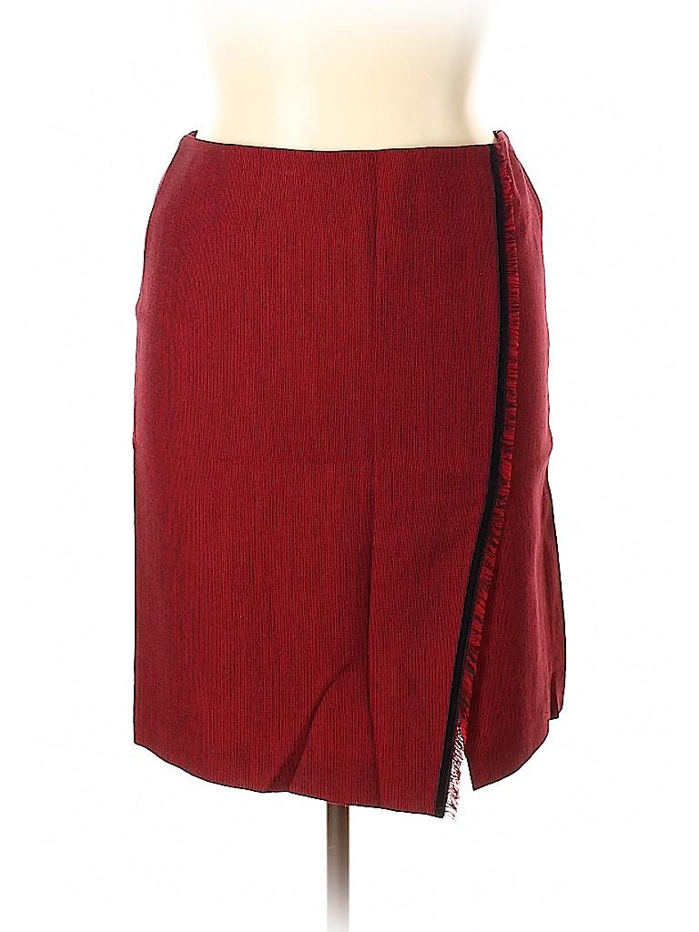 Doncaster Women Wool Skirt Size 14