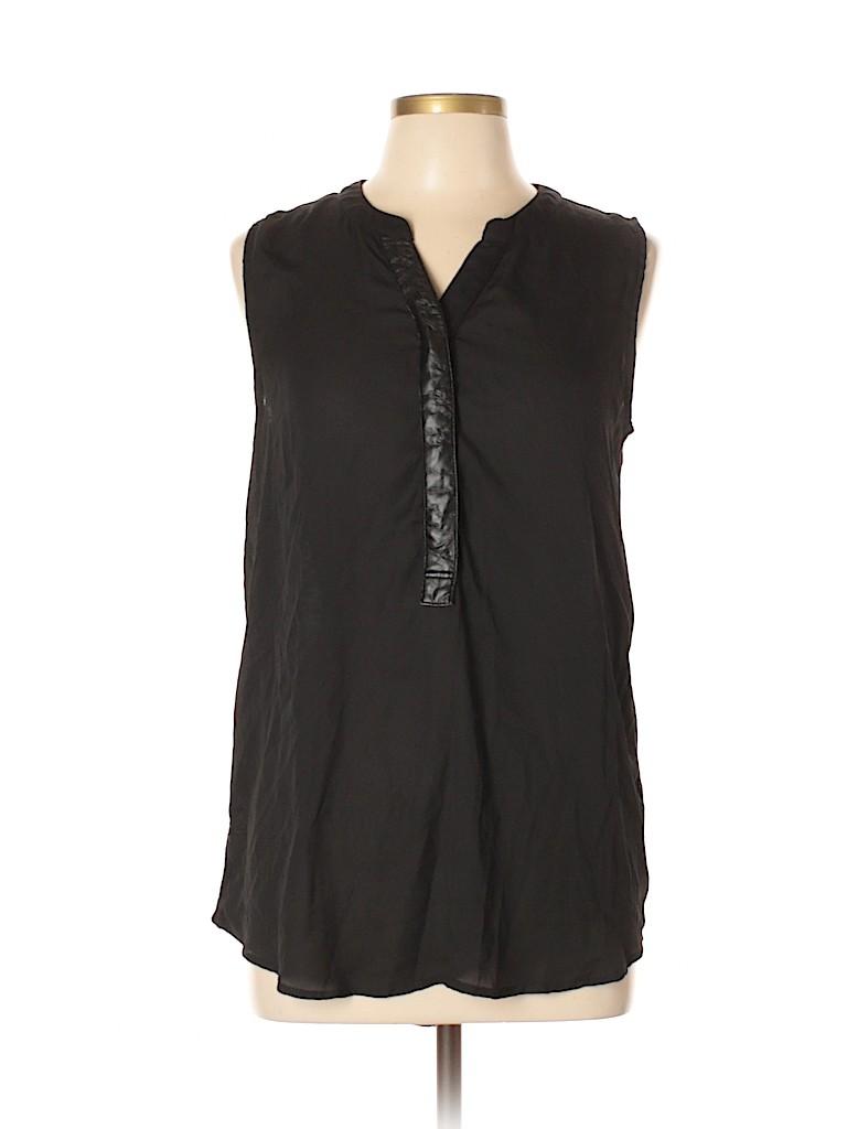 Sunday in Brooklyn Women Short Sleeve Blouse Size L