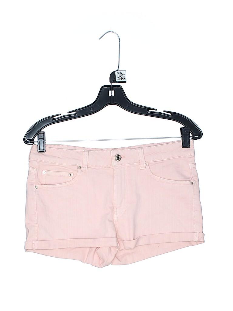 Mango Women Denim Shorts Size 4