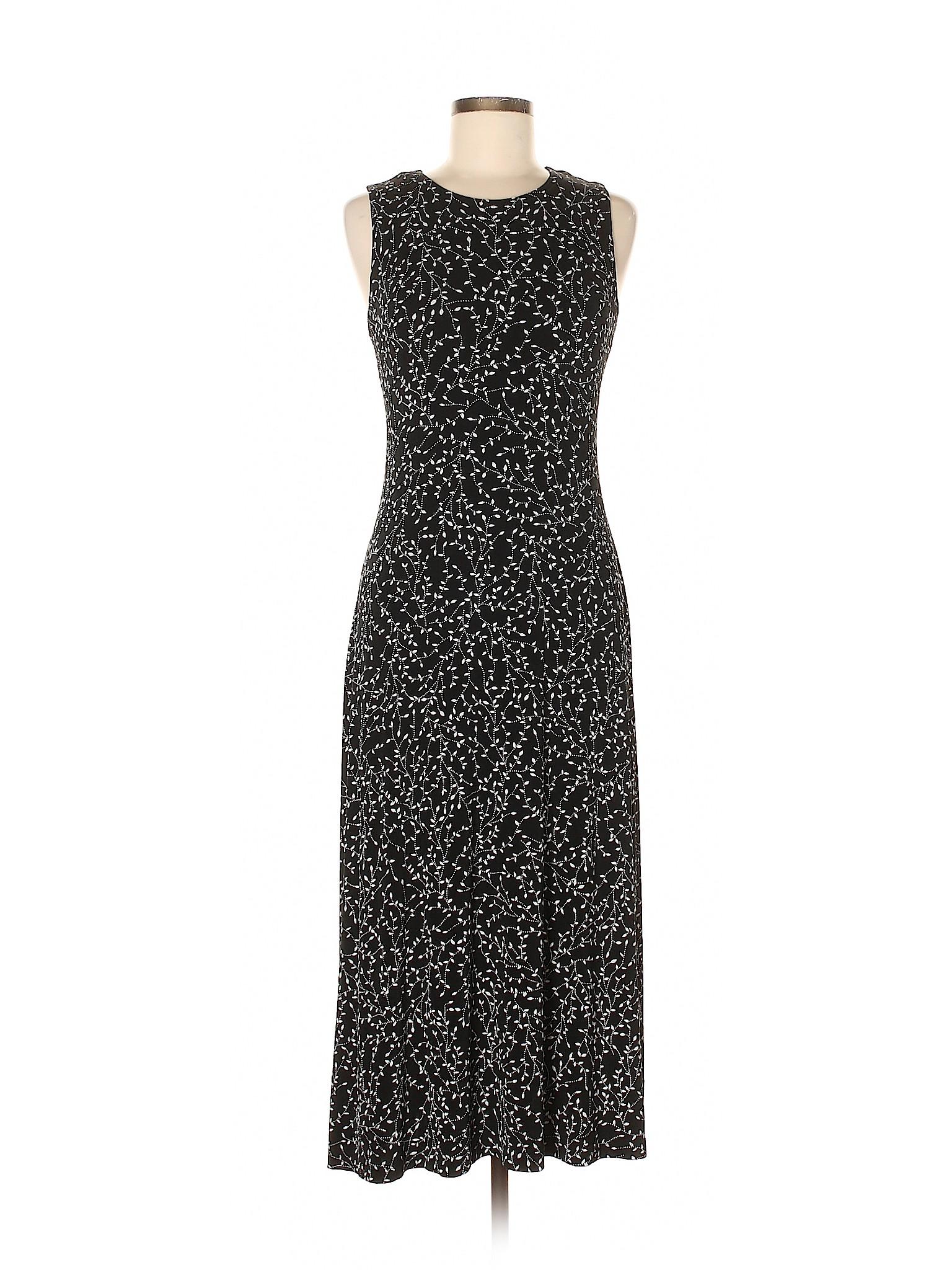 775face82a40 Details about Ronni Nicole Women Black Casual Dress 8 Petite