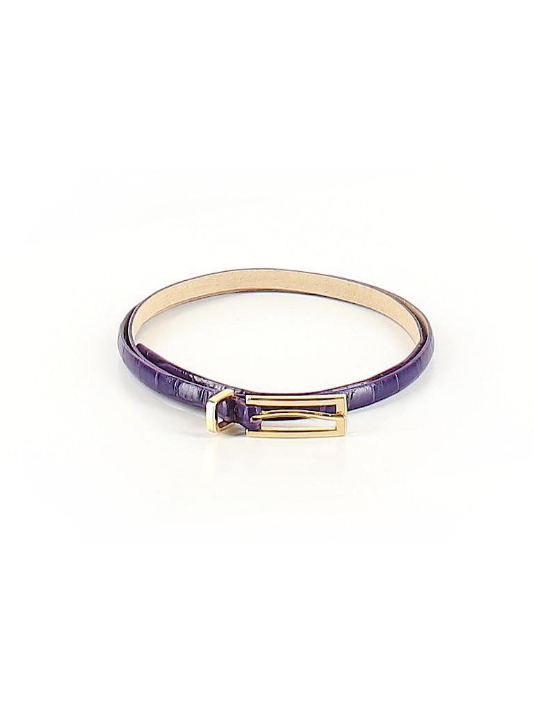 Via Spiga Women Leather Belt Size M