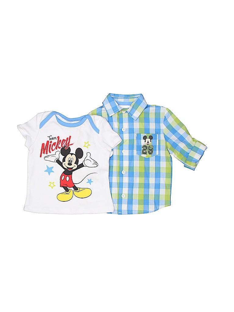 Disney Boys Short Sleeve T-Shirt Size 6-9 mo