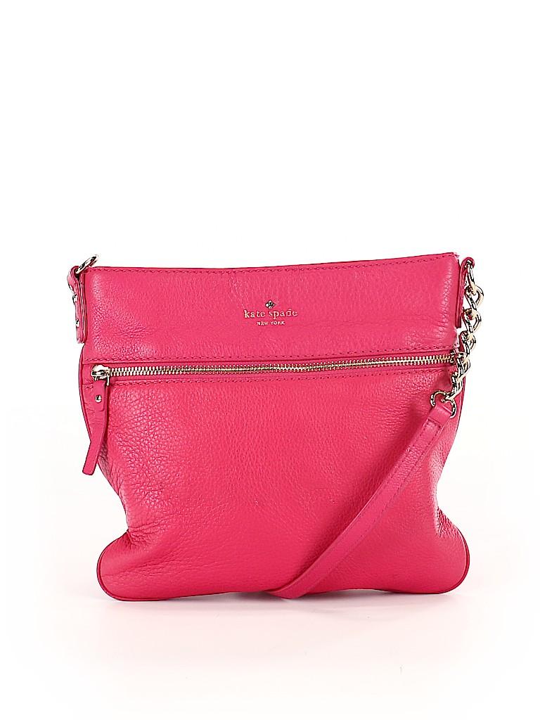 Kate Spade New York Women Leather Crossbody Bag One Size