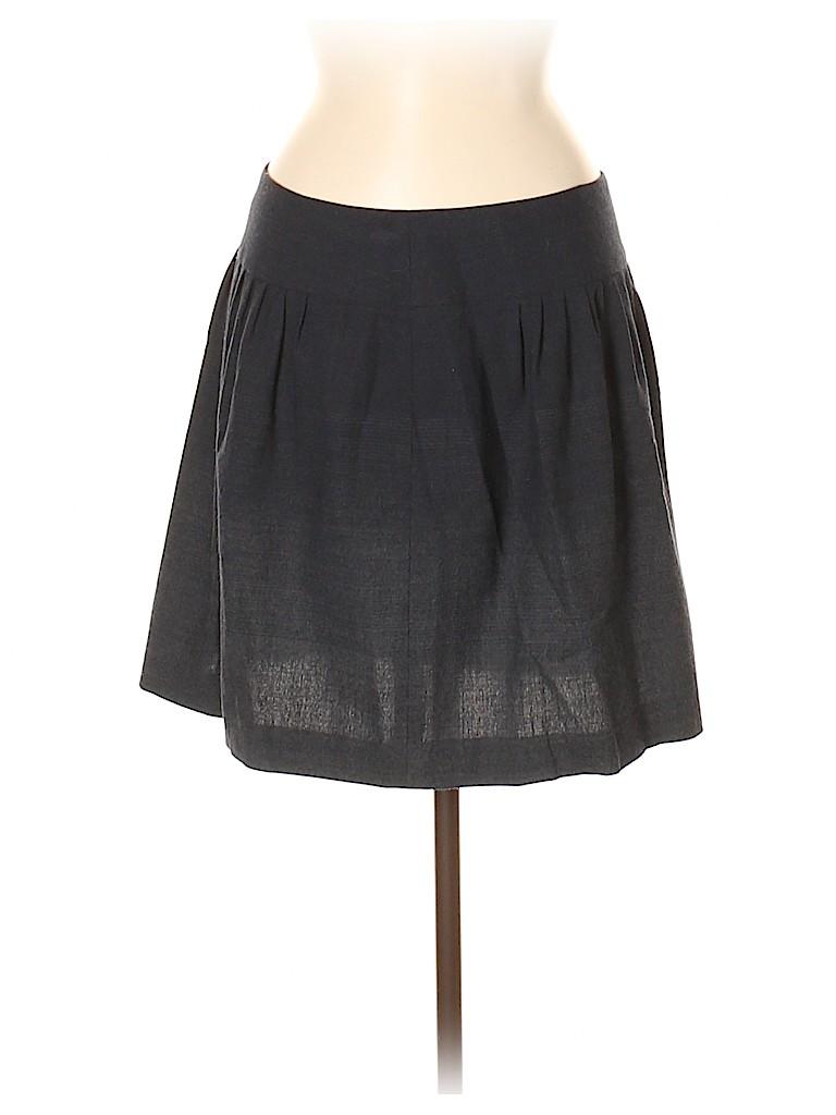 Theory Women Wool Skirt Size 6