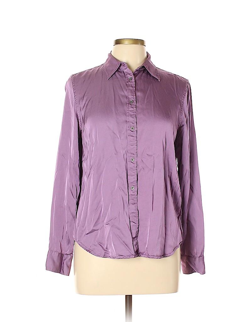 Lauren by Ralph Lauren Women Long Sleeve Blouse Size L