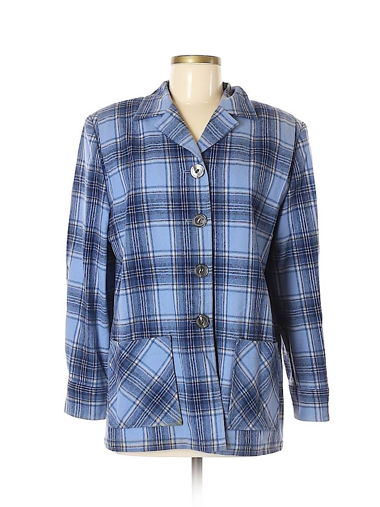 Pendleton Women Wool Blazer Size M