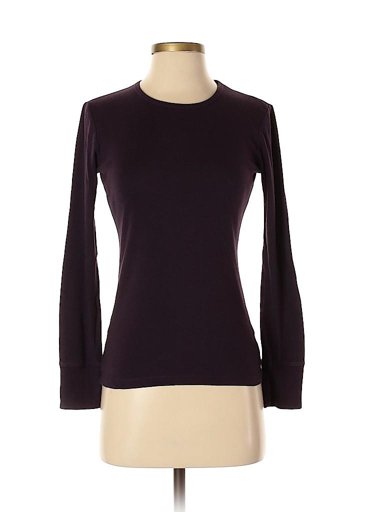 Gap Women Long Sleeve T-Shirt Size S