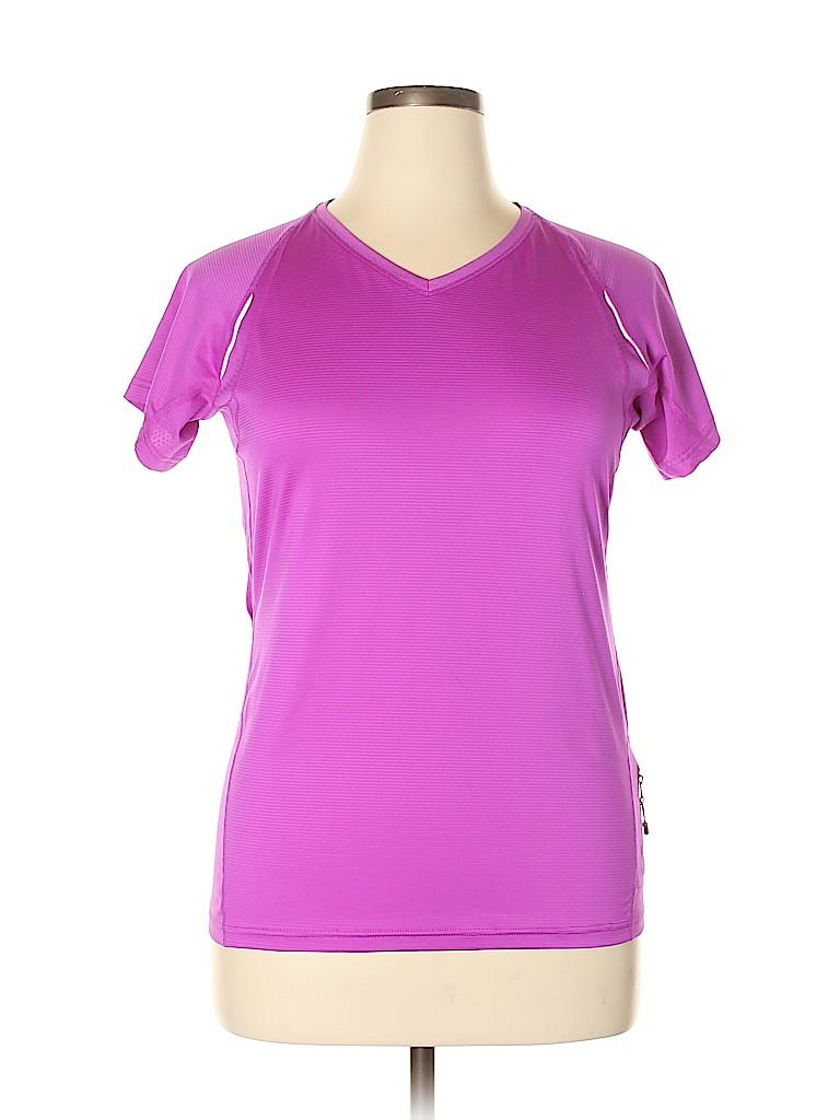 KIRKLAND Signature Women Active T-Shirt Size L