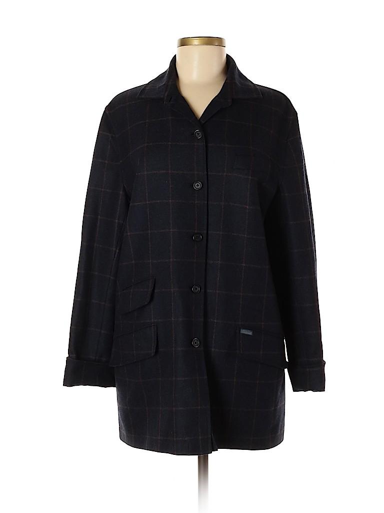Faconnable Women Wool Coat Size M
