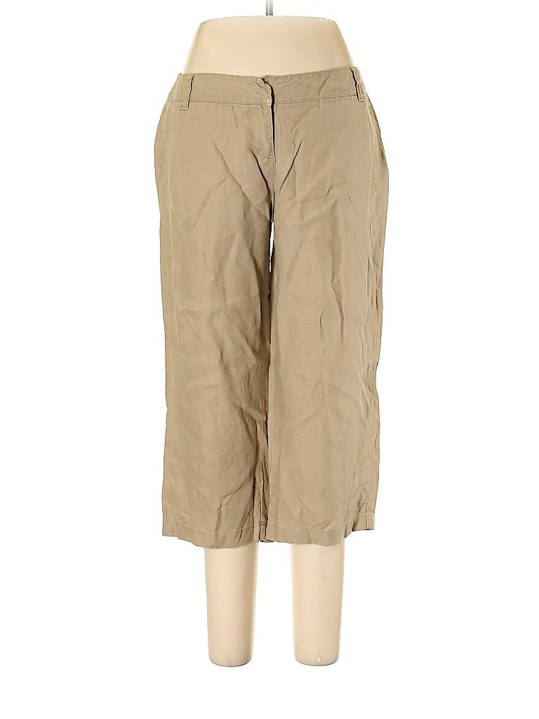 Boden Women Linen Pants Size 12