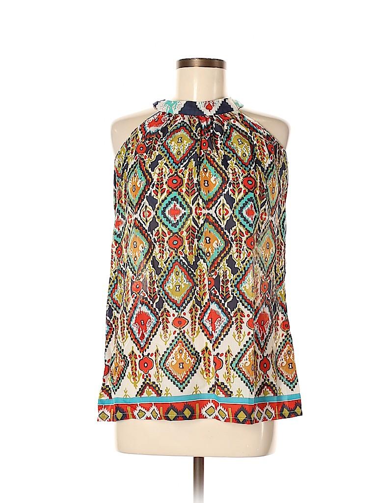 Global Desi Women Sleeveless Blouse Size M