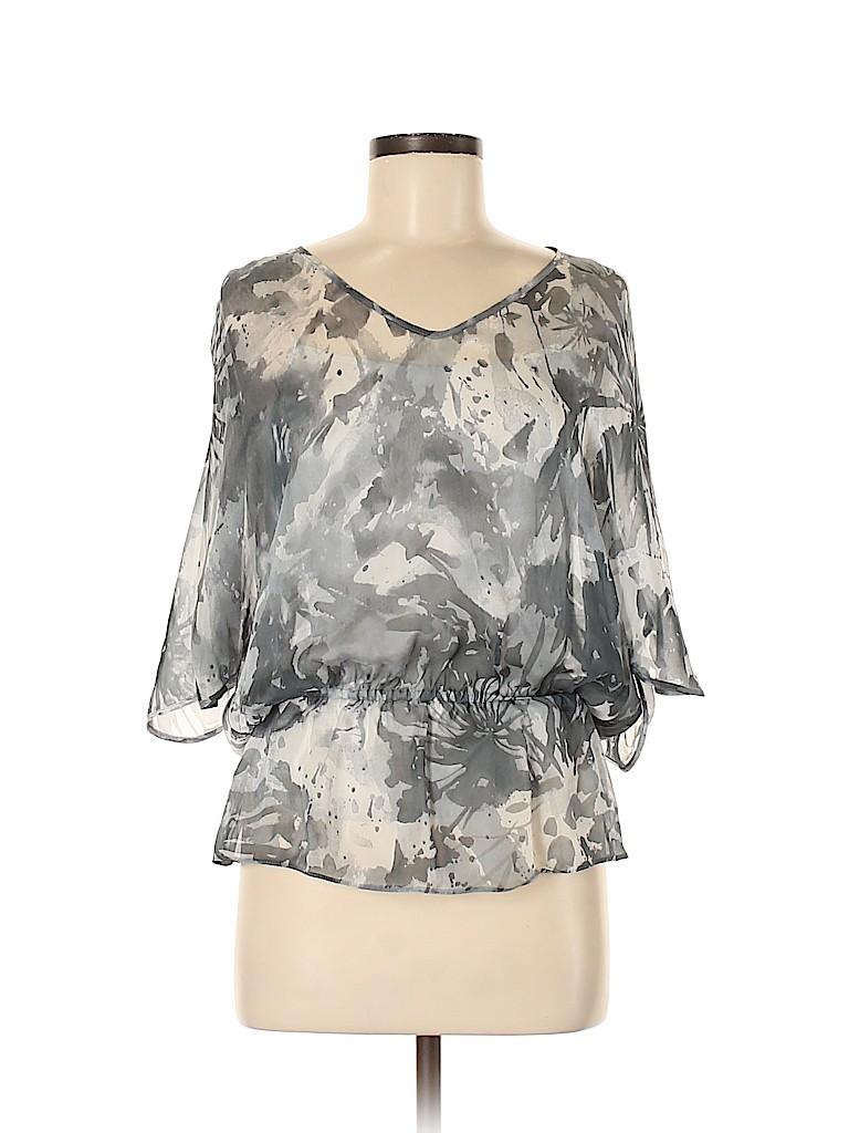 Armani Collezioni Women Short Sleeve Blouse Size 6