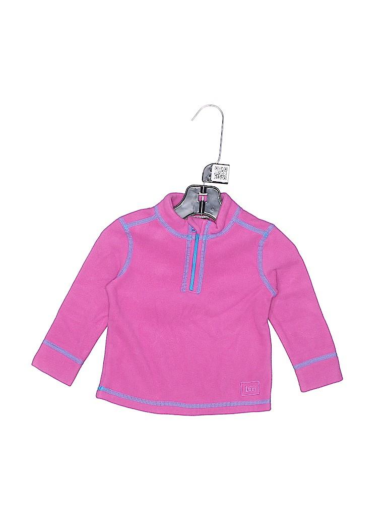 REI Girls Fleece Jacket Size 12 mo