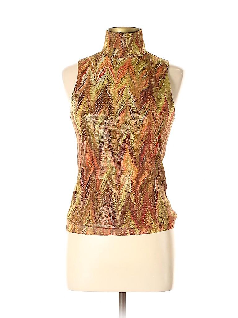 Vivienne Tam Women Sleeveless Top Size Lg (3)