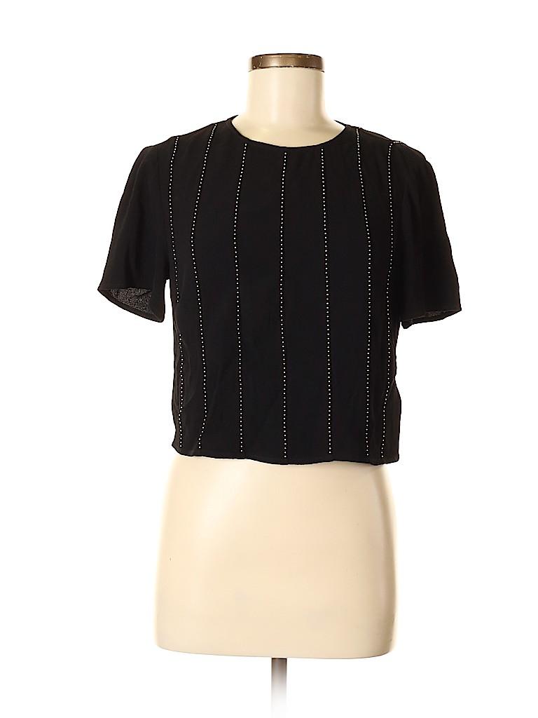 MICHAEL Michael Kors Women Short Sleeve Blouse Size S
