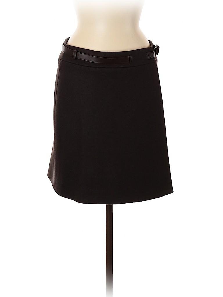 Loro Piana Women Wool Skirt Size 42 (IT)