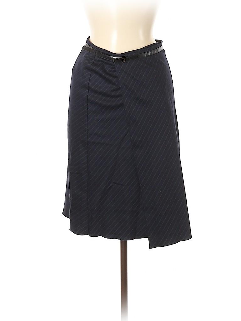 Sisley Women Wool Skirt Size 38 (EU)