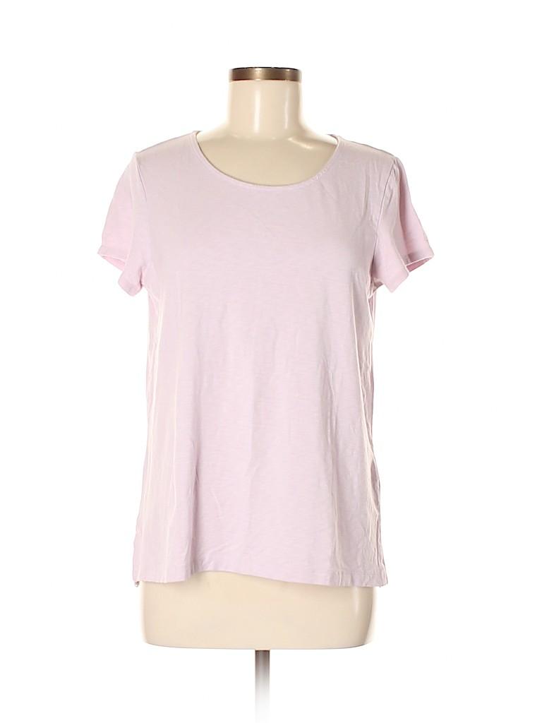 St. Tropez West Women Short Sleeve T-Shirt Size M