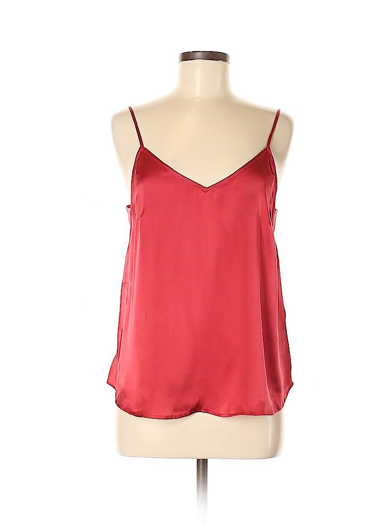 Floreat Women Sleeveless Silk Top Size M