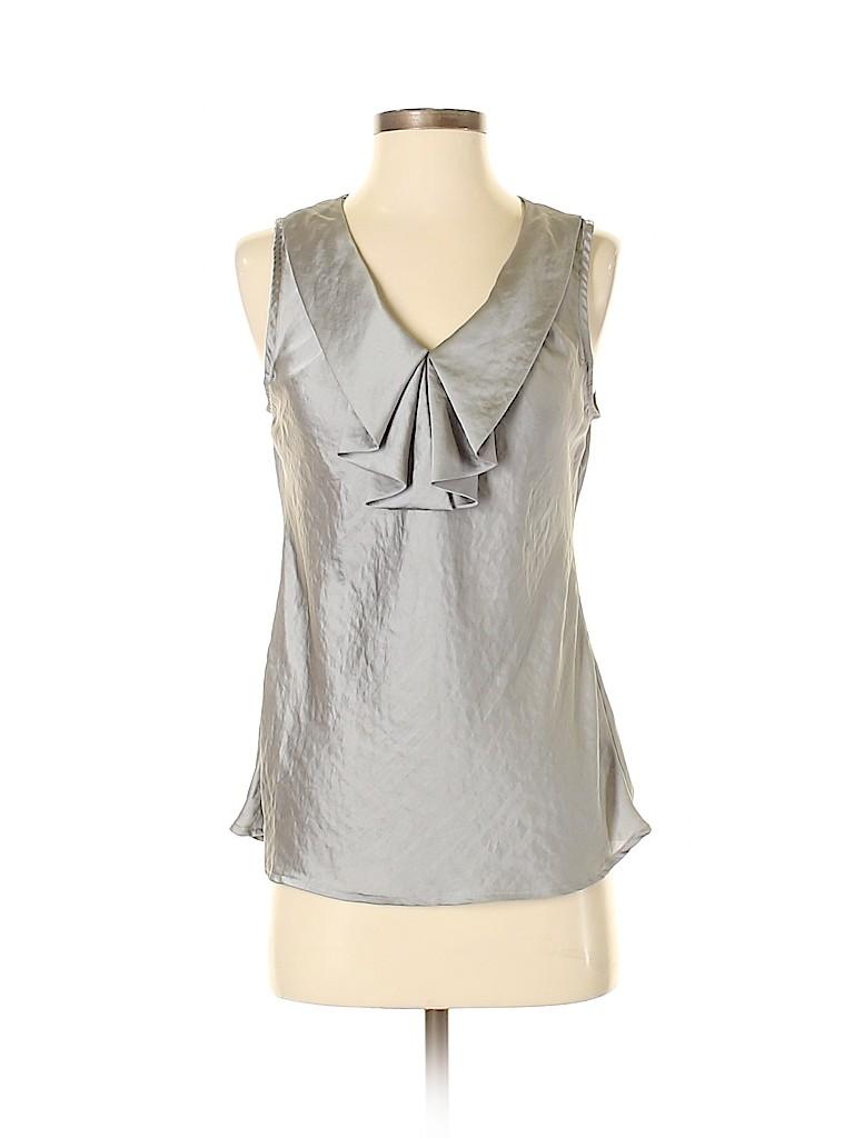 Sunny Leigh Women Sleeveless Blouse Size S