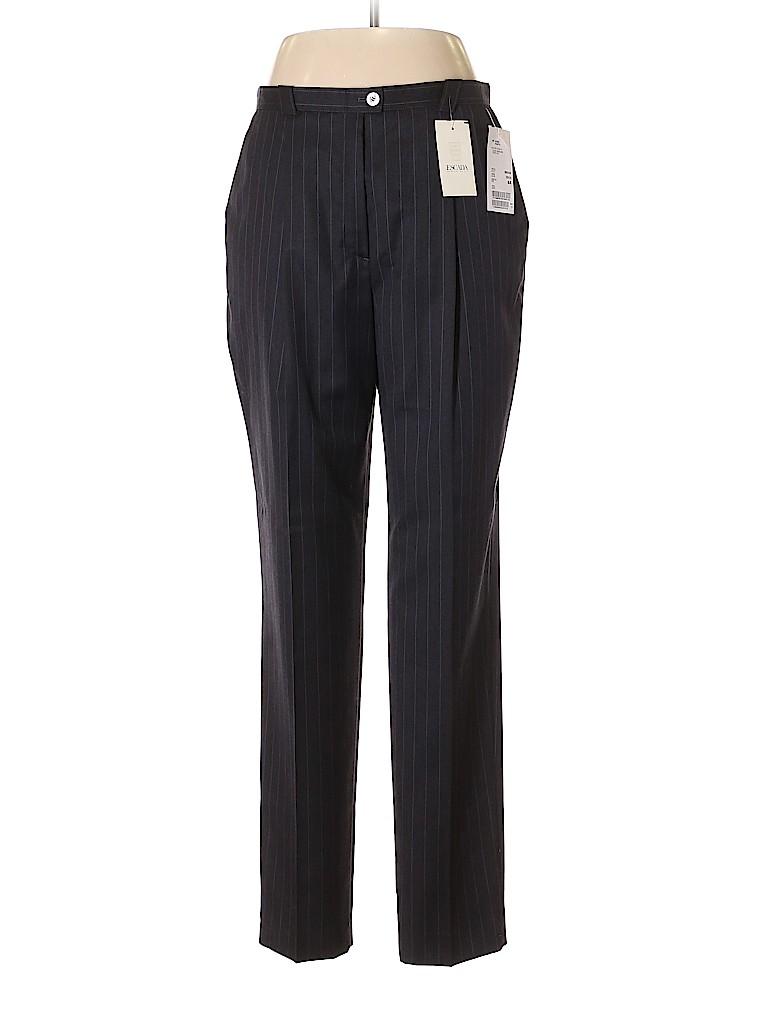 Escada by Margaretha Ley Women Wool Pants Size 44 (EU)