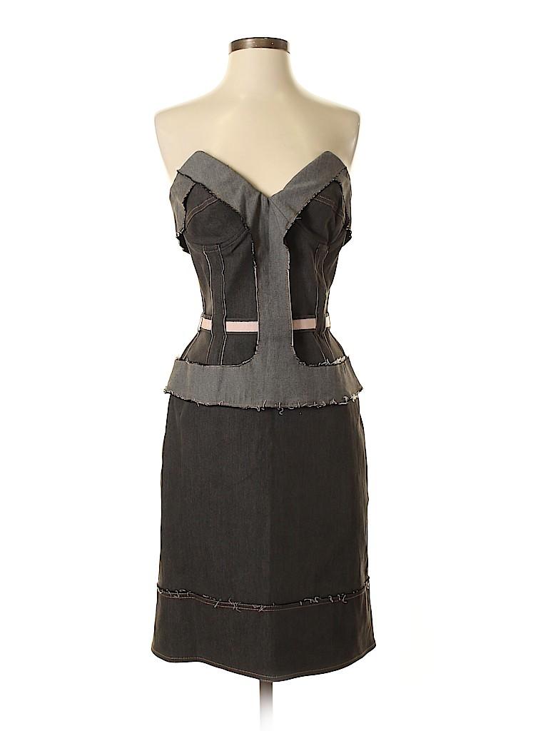 Stella McCartney Women Cocktail Dress Size 44 (EU)